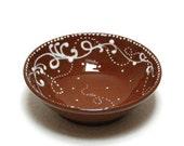 Red Earth Desert Dip Bowls by Humna Mustafa