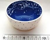 Persian Blues - Dip N Desert Bowls