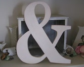 And Sign and Symbol Ampersand Engagement Wedding Prop