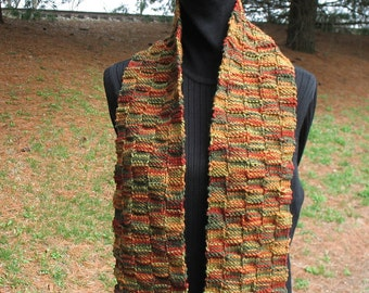 Hand knitted scarf *** on Sale***