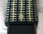Kindle Case Kindle Cover / Sleeve / Nook Case / Galaxy Tab Bag Toshiba Thrive eReader Tablets Cover in Green and Cream