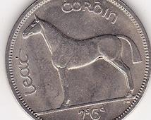 1967 Irish (Irland) Lucky Half Crown ( 2s & 6p) Coin Ideal 49th Birthday Gift