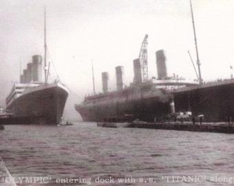 A Pair of Titanic Postcards