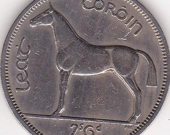 1963 Lucky Irish Half Crown Horse Racing Token/Coin also Ideal 54rd Birthday Gift