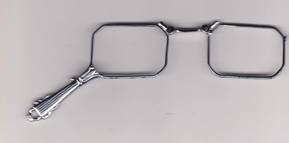 Vintage Lorgnette Folding Glasses from about 1900