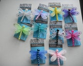 small dragonfly hair clip - baby to adult hair clip - Jewels by Jen -