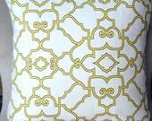 Designer pillow cover decorative pillow accent pillow throw pillow Covington Windsor Citrus 18 x 18 Inches