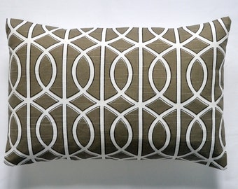 Decorative pillow Lumbar pillow cover accent pillow cover 12x18 inches lumbar pillowcase