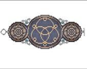 Seed of Lfe Bracelet - PDF pattern