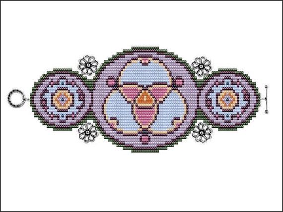 Joy of Trinity Bracelet - PDF pattern
