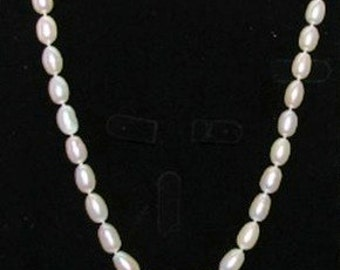 Teardrop Pearl Necklace with 14K Gold Clasp
