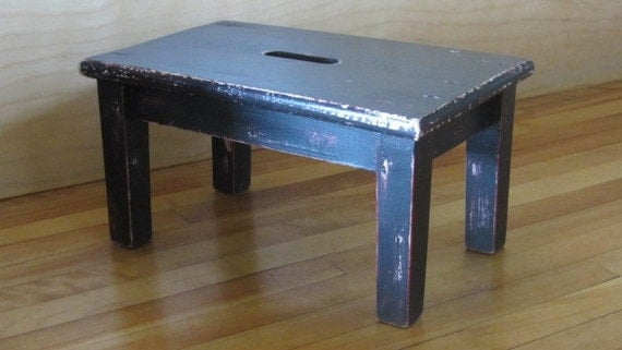 Footstool - Handmade from Reclaimed Wood