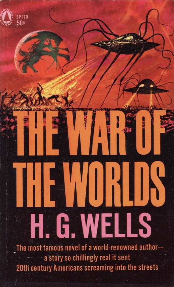 essay on war of the worlds by h.g wells Hg wells and the scientific imagination by w warren wagar issue: the war of the worlds wells's novel but although goddard worked for the military again during world war ii, it is clear from his papers that the dream animating his research was not weaponry but space flight.
