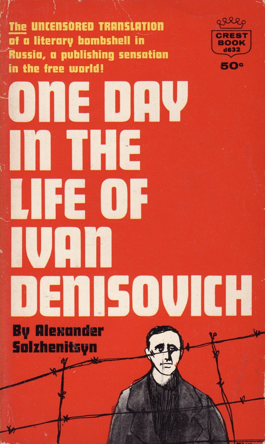 the theme of survival in one day in the life of ivan denisovich by aleksandr solzhenitsyn The book, one day in the life of ivan denisovich by alexander solzhenitsyn is a book with many hidden themes and symbols this book based on a day in a stalinist labor camp through the eyes of the main character shukhov.