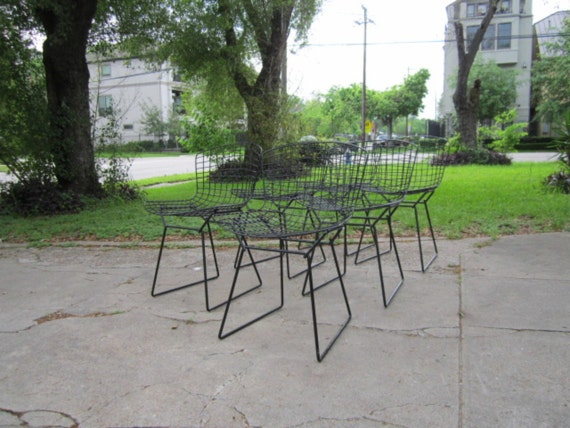 6 Knoll Bertoia Side Chairs