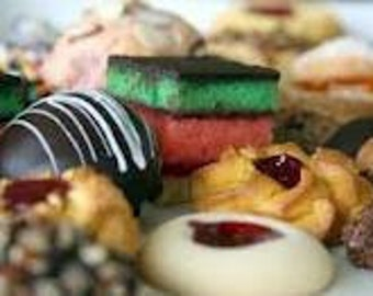 Mothers Day Cookie Assortment Italian Cookie Assortment 2 Dz, Hand Made Cookies, Italian Goumet Cookies,Cookies,