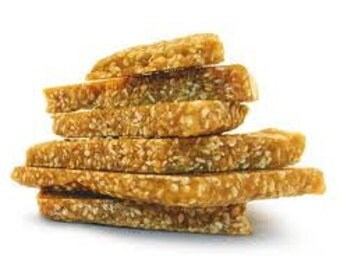 Brittle Toasted Sesame seed Brittle, Loaded with toasted sesame flavor, 1 LB hand Made