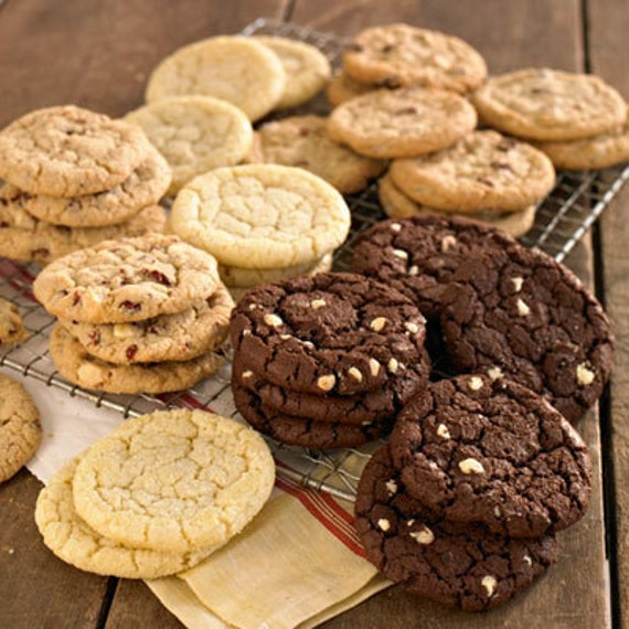 Cookies Delivered to your Door for 1 year , Cookie of the Month Club 2 dozen delivered to your door or sent as a gift