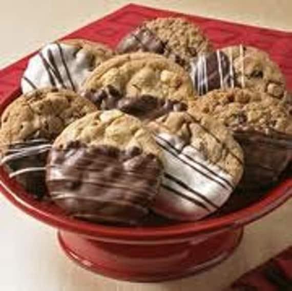 Chocolate Chip Dipped cookies, you choose 'em we dip 'em