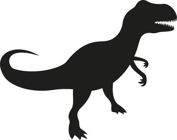 Vinyl Wall Art Decal Custom Stickers - The Stone Age - T-Rex Vinyl