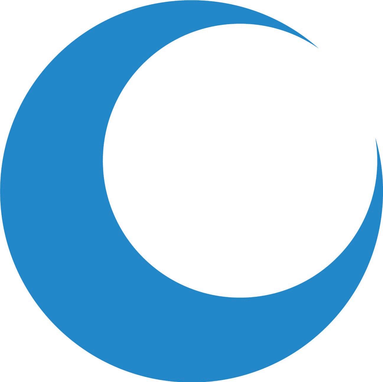 Crescent Moon Silhouette Crescent moon.