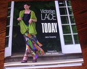 Victorian Lace Today Jane Sowerby Knitting Pattern Book 2007 Lace Shawls