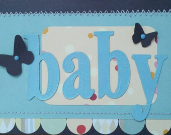 Congratulations Baby Blank Greeting Card