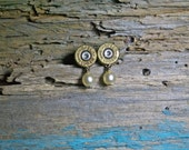 9mm bullets with pearl colored glass beads