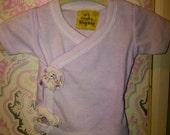 Sweet Newborn Lilac Snap Shirt