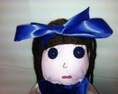 Dolls, button eye plush dolls, custom handmade dolls, softies dolls, button dolls, doll handmade, cute dolls, big eyed dolls