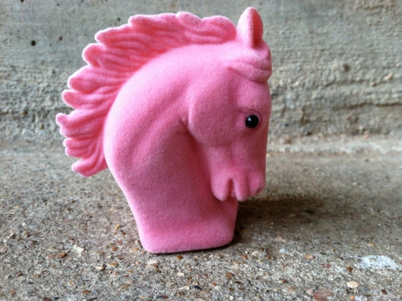 Pink horse box jewlery supplies, box necklace jewelry gift boxes, pony horse jewelry black and pink small felt box
