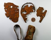 Rusty Iron, Beach Find, Beach Treasure, Rusty Metal