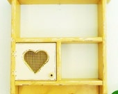 Yellow Country Farmhouse Kitchen Shelf