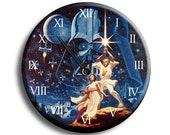 Retro Star Wars Clock
