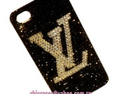 free shipping,Swarovski crystal iphone 4 case, iphone 4 bling case