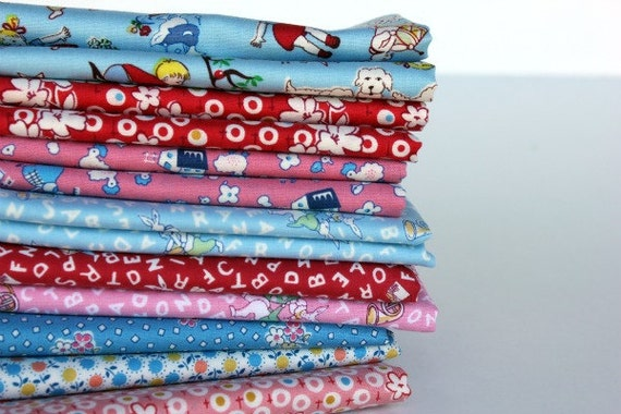 Charming Fat Quarter Bundle of Windham's Storybook VIII Fabric