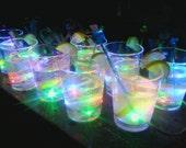 3-color LED  'glass of lemonade' night light