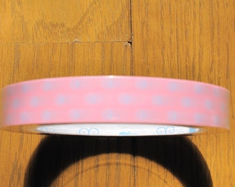 Purple Dots on Pink Base Design Japanese Deco Tape  - Prime Nakamura