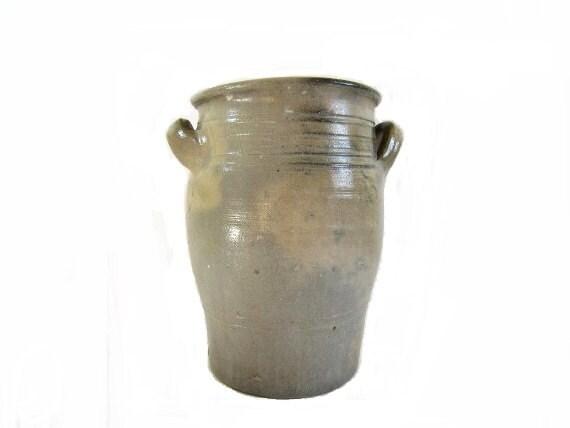 Antique Ceramic Jar French Jar Garden Pot