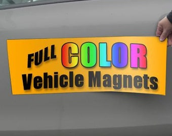 Two 12x24 Magnetic Sign