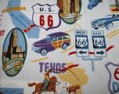 Mens Route 66 Reversible BBQ Apron