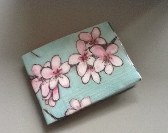 Cherry Blossom Duct Tape Wallet