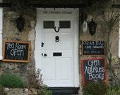 English Tea Room entrance -- 5 x 7 Photograph