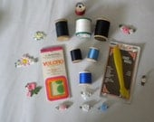 Sewing Supplies from the Seventies