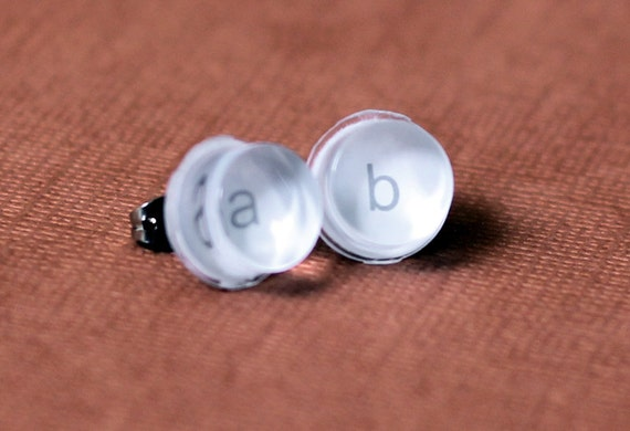 Wii Classic A & B Button Earrings