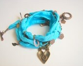 Wrap Silk  Bracelet