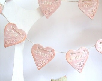 Wedding garland, Wedding Decoration, Vintage Wedding garland, Love Garland,