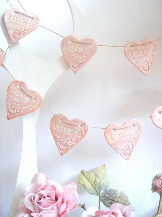 Wedding garland, Wedding Decoration, Vintage Wedding garland, Love Garland,