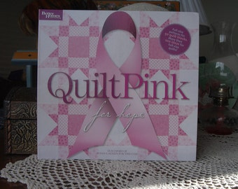 Quilt Pink for Hope Book