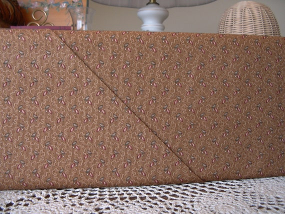 Brown Floral 1880 - 1900 Reproduction Quilt Fabric, Calico Craze by Brackman/Thompson for Moda